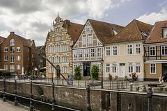 Häuser am alten Hafen