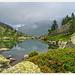 Lago Roterel e rododendri