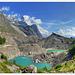 Laghi glaciali del Miage e l'Aiguille Noire, Val Veny