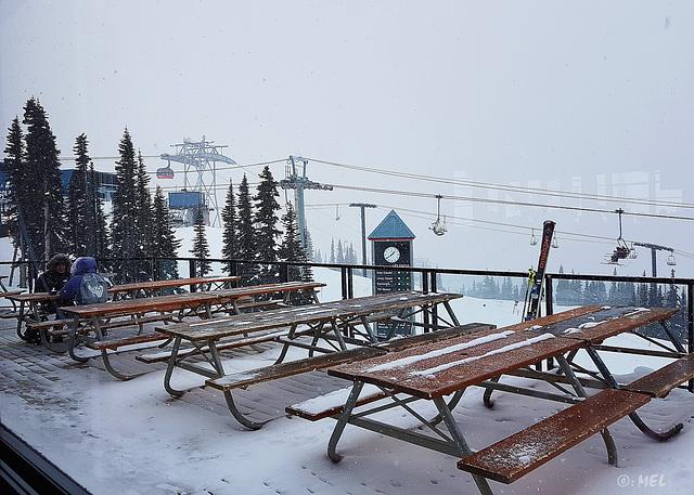 HFF - Blackcomb mountain skihütte