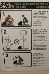 """Toilettes """"à la turque"""" au Japon"""