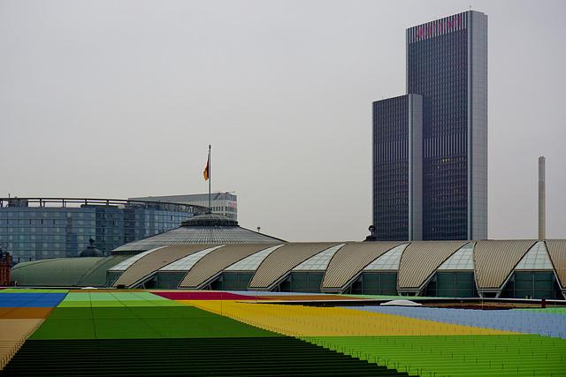 Frankfurter Dachlandschaft - Frankfurt Roofscape (2)