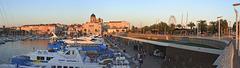 SAINT-RAPHAEL: Panoramique du vieux port 02