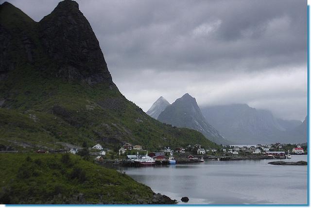 Reine ( Moskenes) Îles Lofoten