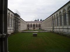 Campo Santo - inner yard.