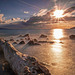 Sunrise au port d'Antibes