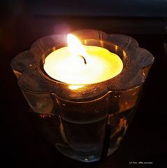 ein Licht in der Nacht