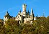 Oben thront die Marienburg
