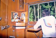 First Class 1981 im Zug nach Bankok 1981