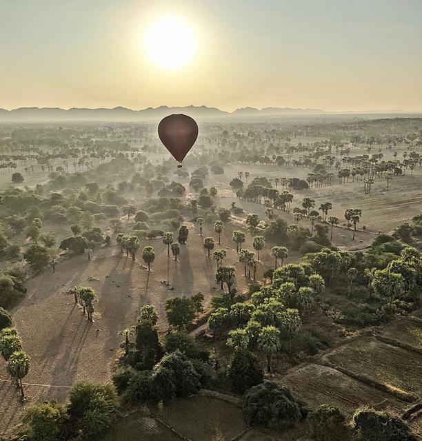 Bagan Mandalay Burma 26th January 2020