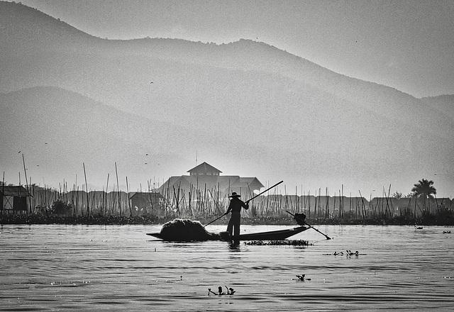 Inle Shan State Burma 18th January 2020
