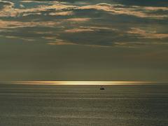 Sunset Belgium Westende