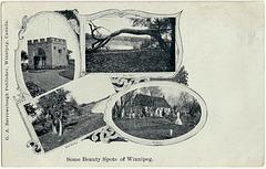 1903 WPG - SOME BEAUTY SPOTS OF WINNIPEG