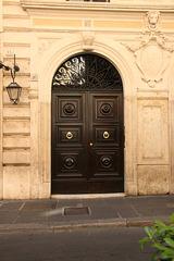 A typical Roman door