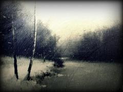 Les essuie glace n' arrêtent pas la pluie...un sourire ...oui