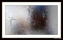 Patterned Glass Window