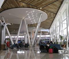 dans l'aeroport de Marrakech