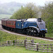 60007 SIR NIGEL GRESLEY at Esk Viaduct on 2P03 10.30 Grosmont to Pickering 7th May 2011