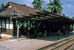 Durchfahrt 1981 Thailand