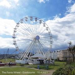 The Ferris Wheel Eastbourne 15 4 2021