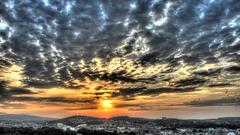 BELFORT: 2015.07.18 Levé du soleil.
