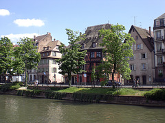 Blick zum Quai de Batelieres