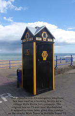 Wish Tower AA box no 73 Eastbourne 15 4 2021