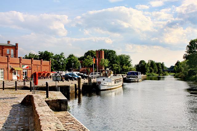 Grabow, Eldehafen