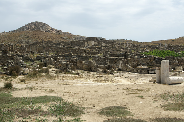 Delos - ruins of a once great civilisation