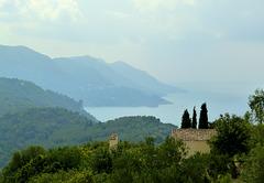 Corfu - west coast landscape