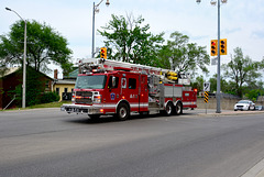 Canada 2016 – Guelph – Guelph Fire Department in action