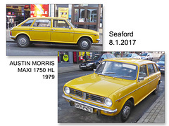 Austin Morris Maxi 1750 HL 1979 - Seaford - 8.1.2017