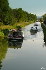 Sur le canal du Nivernais