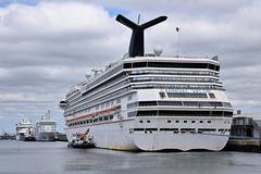 Carnival Valor at Southampton - 8 June 2020