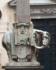 IT - Rom - Berninis Elefant