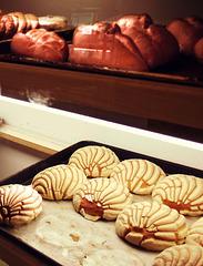 Pan, galletas y conchas
