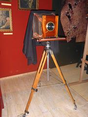 Alte Plattenkamera
