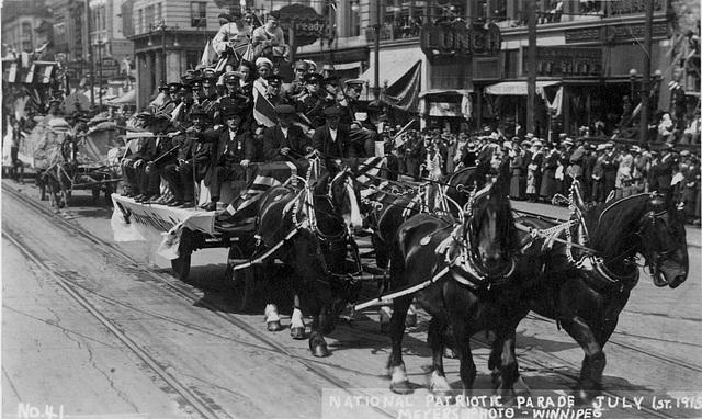 6796. National Patriotic Parade July 1st, 1915