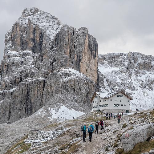Rifugio F. Cavazza al Pisciadù