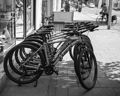 Bikes, South Street, St Andrews