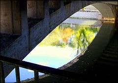 Rio Manzanares walkway, Madrid. HFF!!!