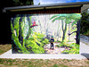 Toilet Wall Mural.