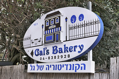 Gal's Sign – Ha-Nassi Boulevard, Haifa, Israel