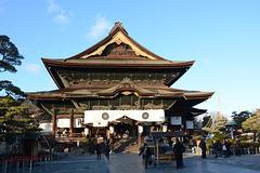 Japan, Zenkō-ji Temple in Nagano