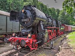 """34 - """"52 8183-7"""" des VSE-Eisenbahnmuseum-Schwarzenberg zu den Eisenbahntagen 2014"""