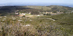 Royal Ice Factory viewed from top of Montejunto Sierra.