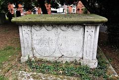 Clarke Memorial, Halesworth Churchyard, Suffok