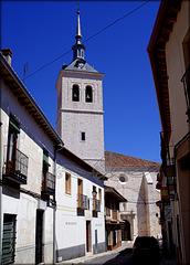 The church at Colmenar de Oreja