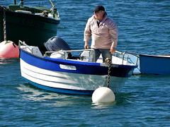 retour de pêche,