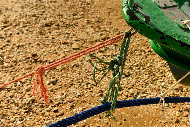 Ayamonte, Barriada Canela, cuerdas y nudos.